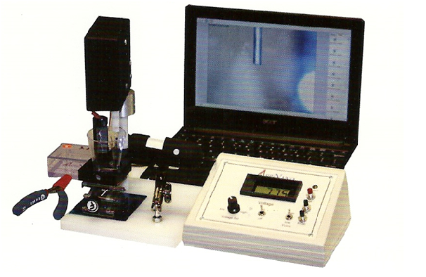 STM tip electrochemical etcher